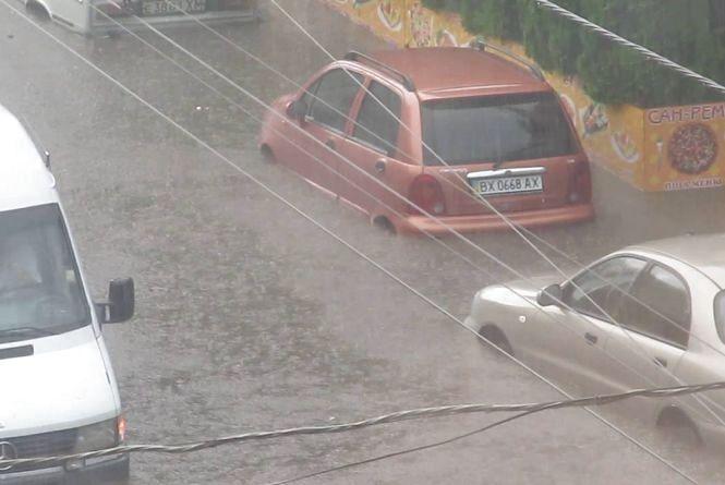 Коли перестане затоплювати Зарічанську і Шевченка? Відповідь міської влади
