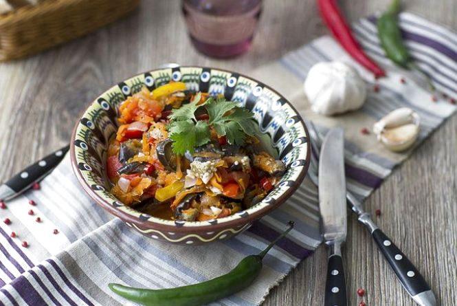 Рецепт вихідного дня. Готуємо овочеве рагу по-грузинськи