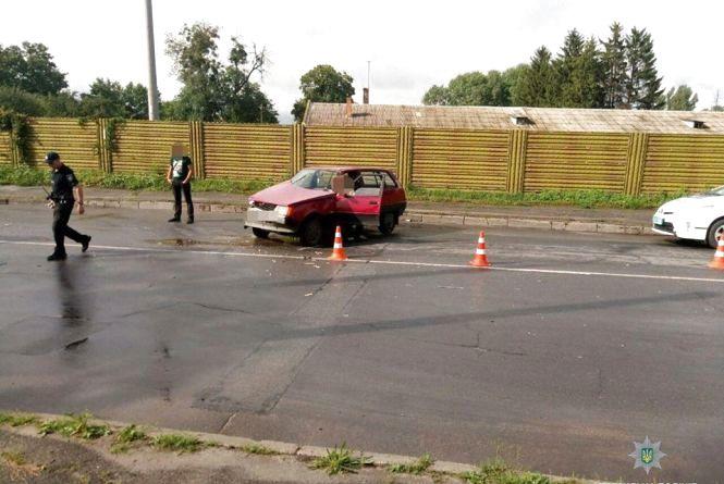 ДТП на Купріна: водій був п'яний та ще й без прав