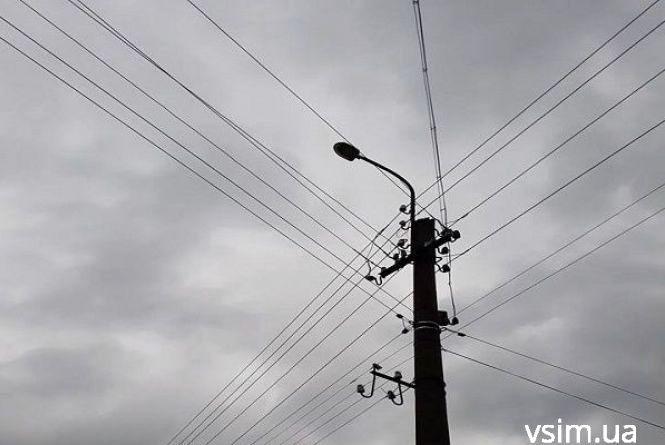 Півсотні вулиць у Хмельницькому залишаться без світла 14 вересня