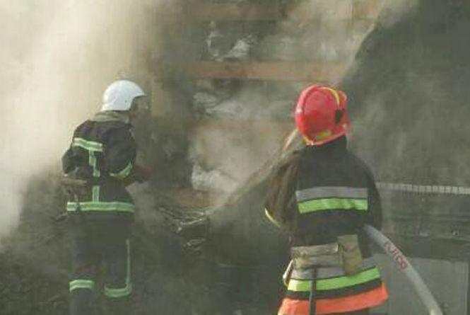 У Новоушицькому районі згорів будинок