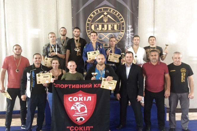 Хмельничани здобули нагороди на чемпіонаті України з комбат дзю-дзюцу