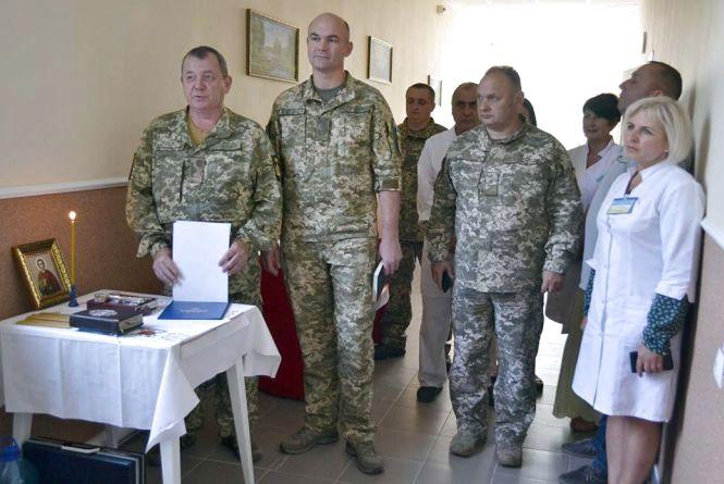 200 тисяч гривень витратили на ремонт відділення у хмельницькому військовому шпиталі