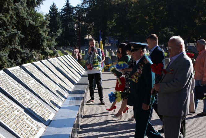 У Хмельницькому вшанували партизанів і підпільників