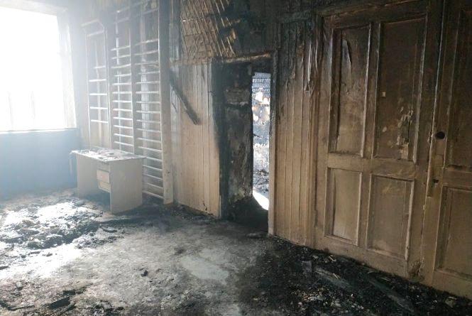 Назвали причину пожежі у школі № 1 на Староміській