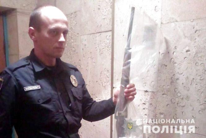 У Старосинявському районі 18-річний хлопець тримав вдома зброю