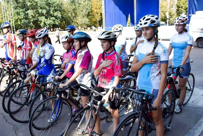 Хмельницькі велосипедистки стали найкращими на всеукраїнських змаганнях