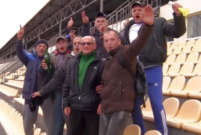 """Святкування на чужій території: красилівський """"Случ"""" став чемпіоном області (ВІДЕО)"""