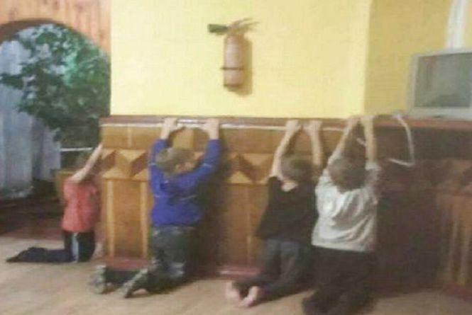 Жорстоке виховання. У санаторії на Хмельниччині вихователь бив дітей ногами та ставив на коліна