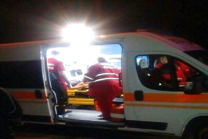 """Нічна ДТП на Інститутській: п'яний на """"Lanos"""" збив 19-річну дівчину на переході"""