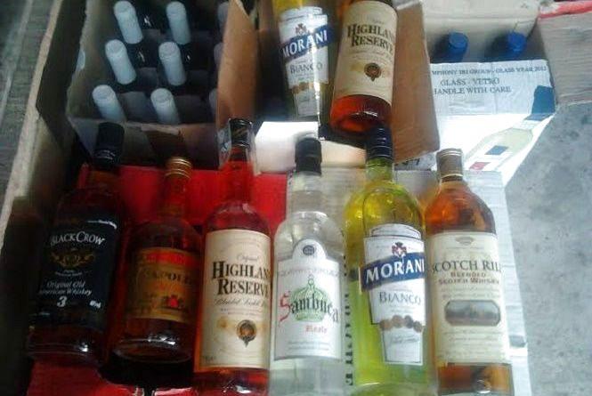 У Хмельницькому конфіскували імпортного алкоголю на 300 тисяч гривень