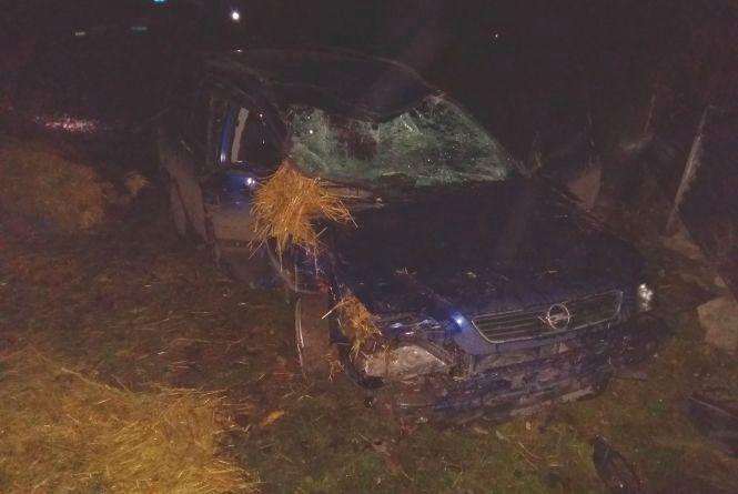 Троє людей травмувалися в нічній ДТП на Хмельниччині