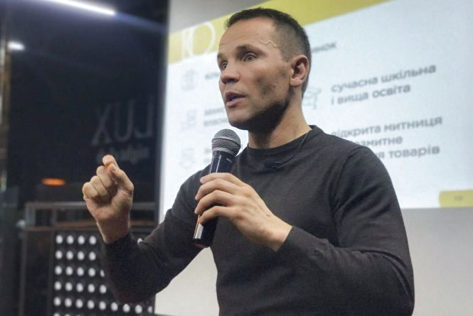 Дерев'янко представив команду Людей Змін на Хмельниччині, які витіснять із влади весь «нафталін» (Прес-служба Юрія Дерев'янко)