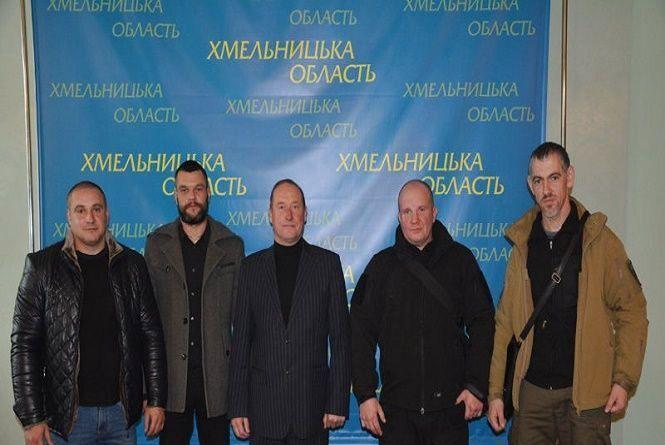 Чотирьом АТОвцям з Хмельниччини присвоїли статус бійців-добровольців