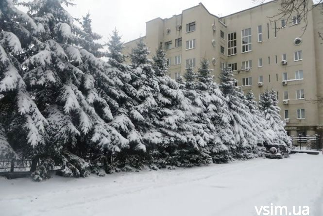 У вівторок, 27 листопада, Хмельницький засипле снігом
