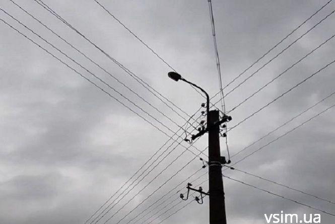 Три вулиці у Хмельницькому залишаться без світла 6 грудня