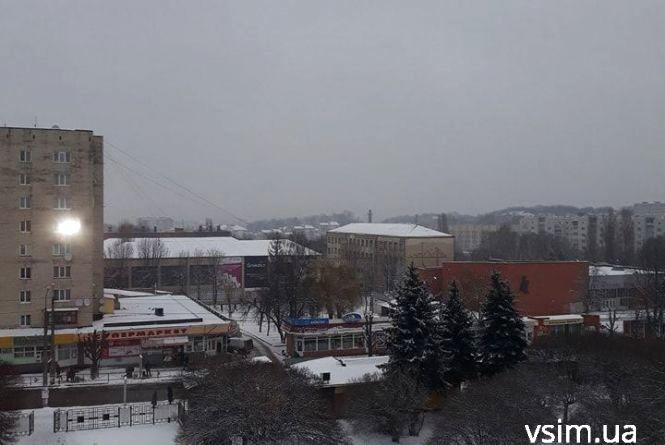 Родзинка п'ятниці - похолодання. Про погоду у Хмельницькому 7 грудня