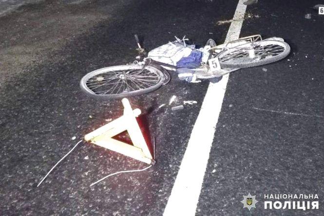 В аварії поблизу Дунаївців загинув 60-річний велосипедист