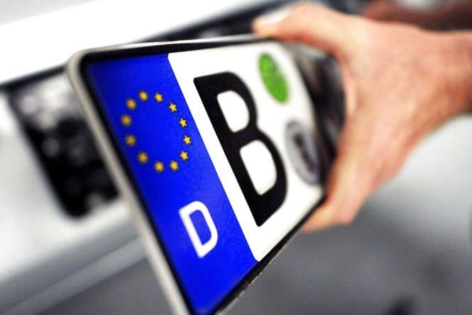 На Хмельниччині розмитнили ще 6 автомобілів на «євробляхах»