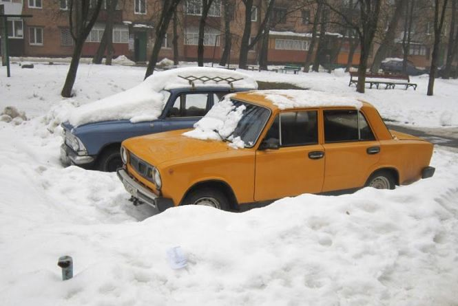 У четвер, 13 грудня, Хмельницький засипле снігом