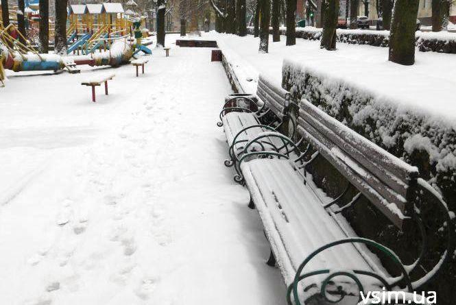Сніг не відступає. Прогноз погоди у Хмельницькому на 14 грудня