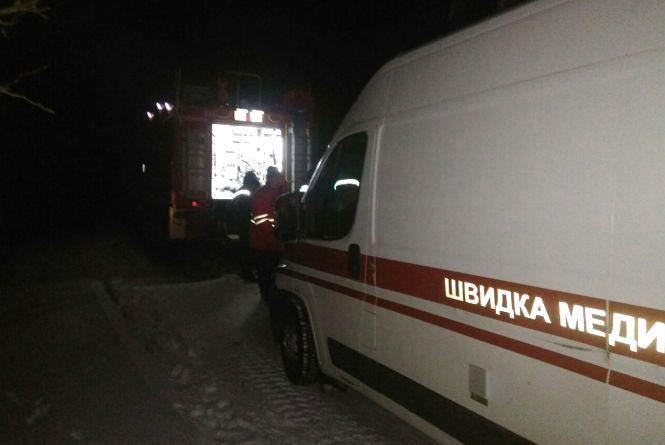 У Білогір'ї під час пожежі врятували матір з 13-річним сином