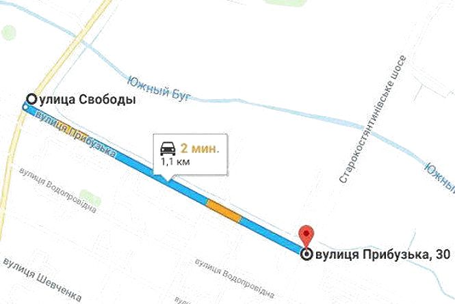 Цієї суботи, 22 грудня, обмежать рух транспорту на Прибузькій