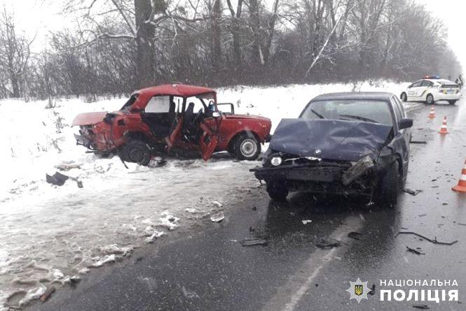 Одразу три авто зіткнулися на трасі у Ярмолинецькому районі: є постраждалі