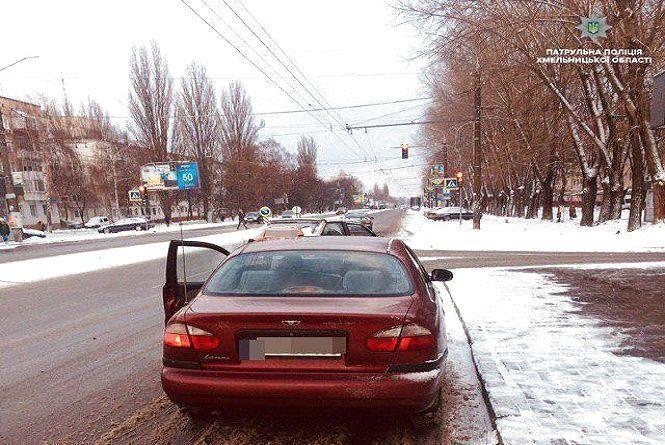 """У Хмельницькому спіймали п'яного """"таксиста"""""""
