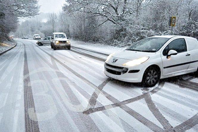 Негода атакує:  хмельничан просять бути уважними на дорозі