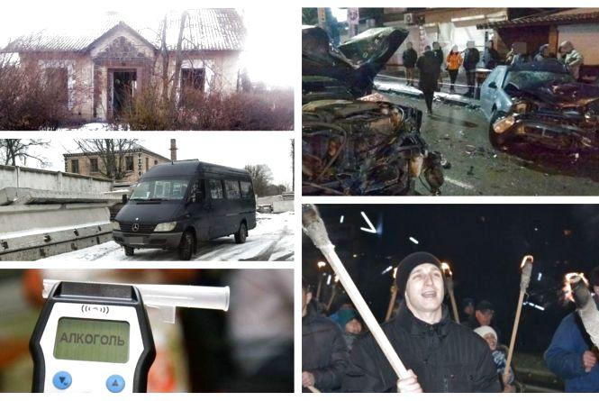 Смолоскипний марш та водії-порушники: ТОП-5 новин тижня у Хмельницькому