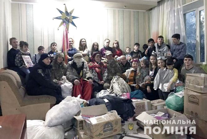 Хмельницькі спецпризначенці завітали до дитячого будинку на Сході України