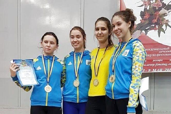 Хмельничанка здобула одразу дві нагороди на етапі Кубку Європи з фехтування