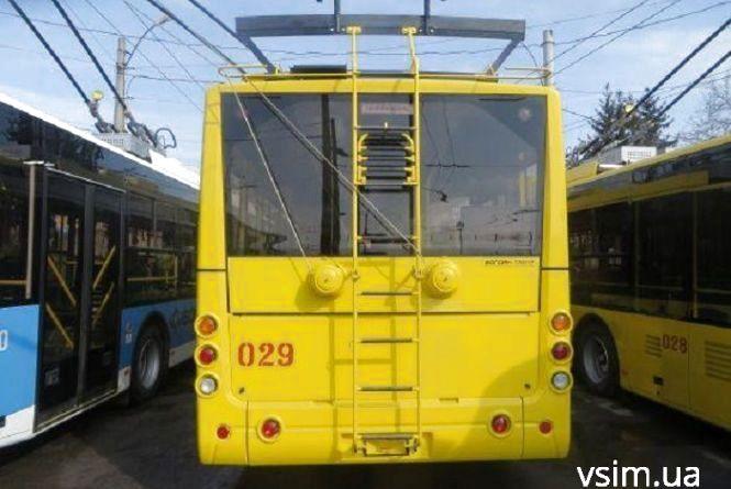 13 квітня - День народження тролейбуса