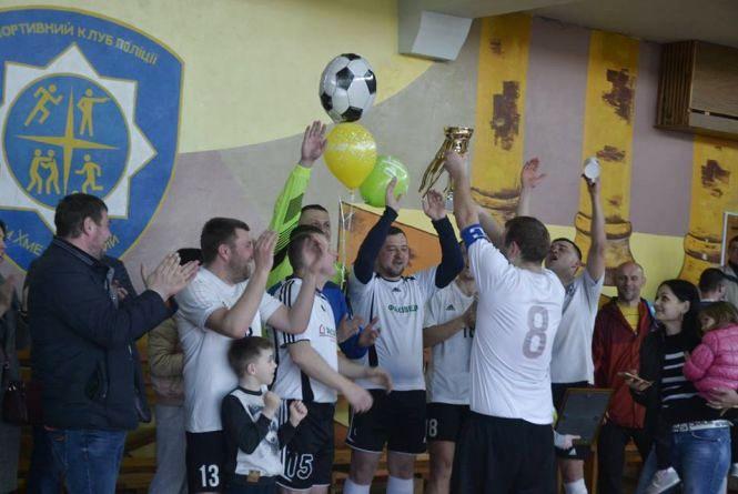 Визначилися чемпіони Хмельницького з футзалу серед ветеранів