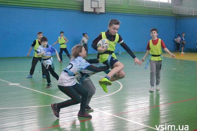 НВК №10 переміг у регбійній спартакіаді Хмельницького