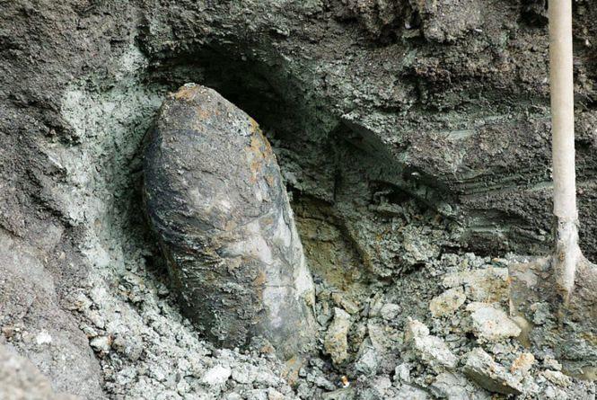 У Чемеровецькому районі знайшли авіаційну бомбу часів Другої Світової війни