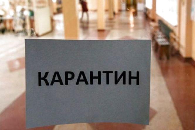 Усі школи Ізяславського району закрили на карантин