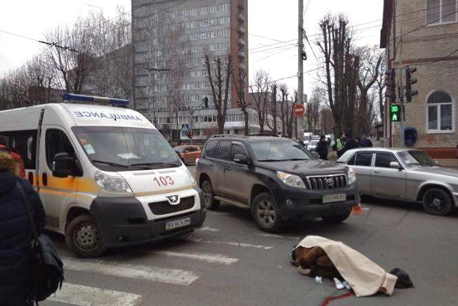 Збита насмерть жінка і більше п'яних водіїв: хроніка ДТП у Хмельницькому