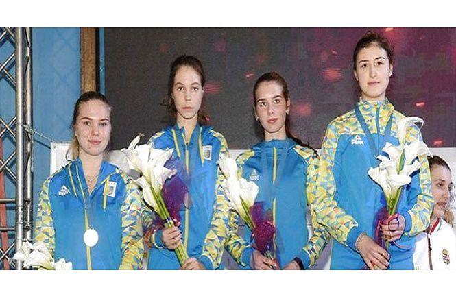 Хмельничанка здобула срібло на чемпіонаті Європи з фехтування