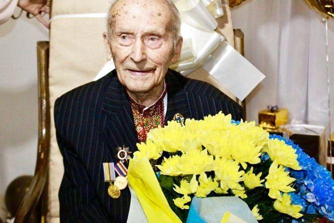 Житель Хмельниччини відсвяткував своє 100-річчя