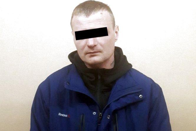 Росіянина з кримінальним минулим затримали у Хмельницькому
