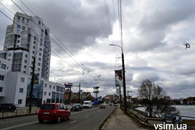Дощ та вітер: прогноз погоди у Хмельницькому на 8 березня