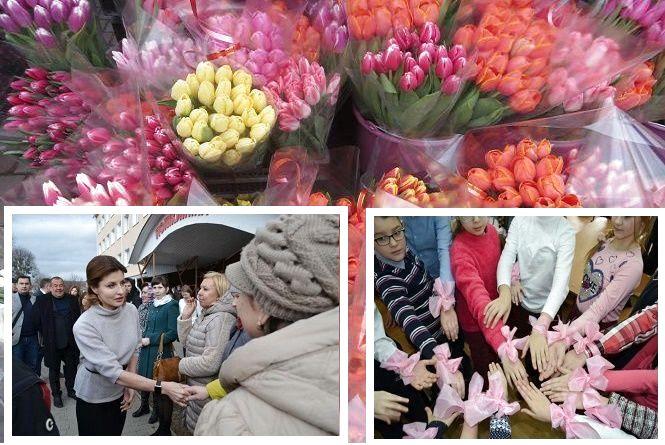 """""""Рожевий"""" флеш-моб, Марина Порошенко на Хмельниччині та свято для жінок: ТОП-5 новин тижня"""