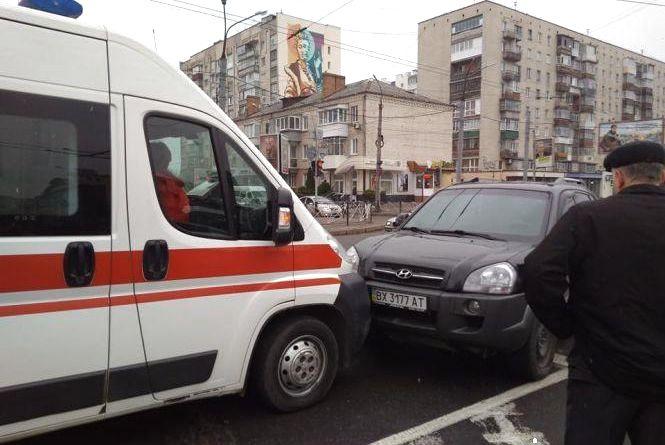 Аварійний вівторок: вчора в Хмельницькому трапилося 6 ДТП (ФОТО)