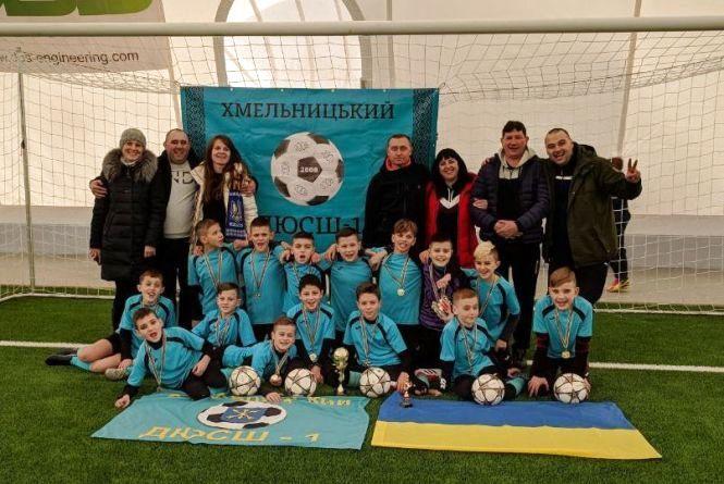 Хмельничани перемогли на міжнародному турнірі з футболу
