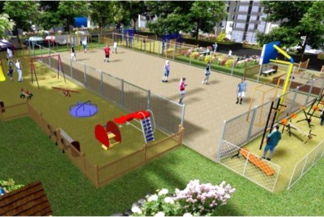 Встановити вуличні тренажери та поле для міні-футболу на Виставці просить хмельничанин Олександр