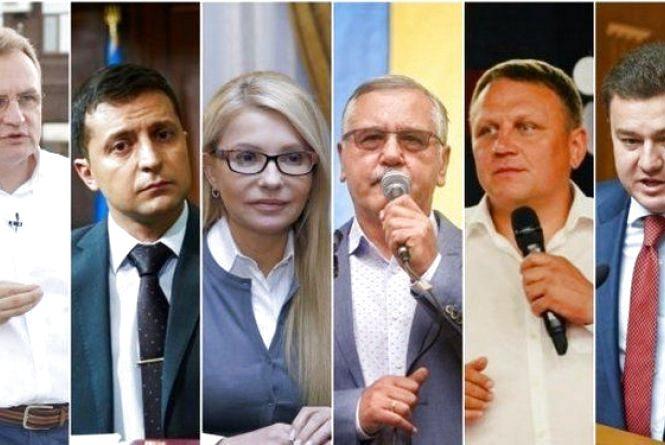 Що ви знаєте про кандидатів у президенти? (ТЕСТ)