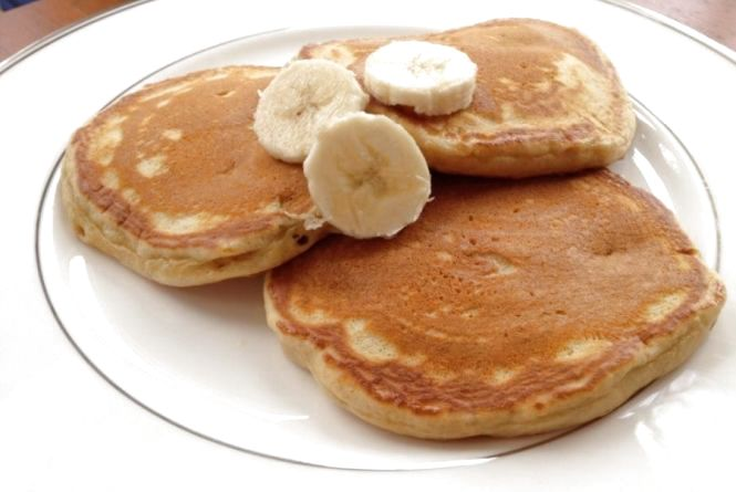 Смачний сніданок: готуємо оладки з бананів