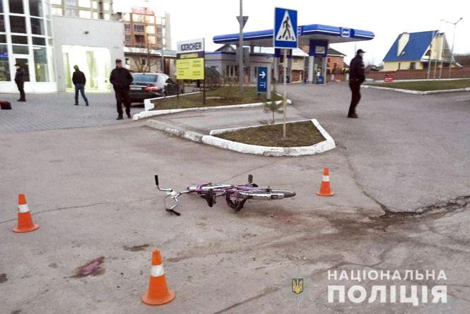 У Кам'янці BMW збив велосипедиста
